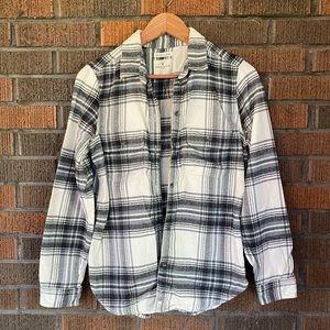 Button-down Flannel Shirt